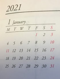 2021年1月
